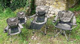 Sedie da campeggio-pesca sportiva