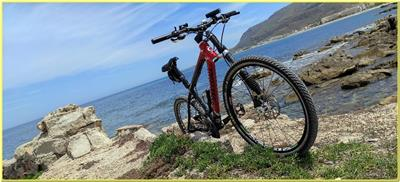 Bicicletta Cannondale Taurine MTB 26 Total Carbon Dischi Mag