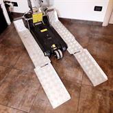 Montascale per carrozzina elettrica per disabili
