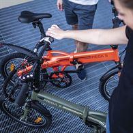 Bici elettrica bicicletta pedalata assistita Pieghevole