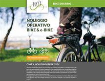 Bici elettrica a noleggio operativo