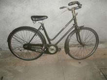 Vecchia bici freni a bacchetta Cicli A F Milano
